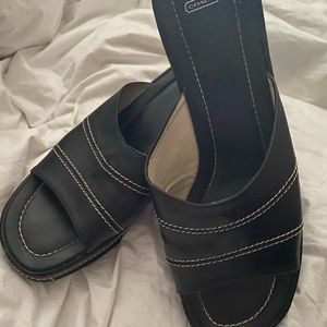 Coach wedge sandals size 10
